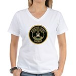 Riverside Corrections Women's V-Neck T-Shirt