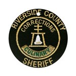 Riverside Corrections Ornament (Round)