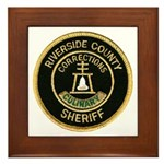 Riverside Corrections Framed Tile