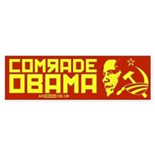 Comrade Obama Bumper Bumper Sticker