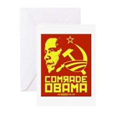 Comrade Obama Greeting Cards (Pk of 10)