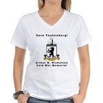 Save Teufelsberg! Women's V-Neck T-Shirt