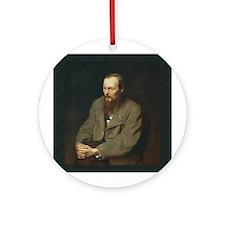 Fyodor Dostoevsky Ornament (Round)