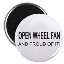 "Open Wheel Fan 2.25"" Magnet (10 pack)"