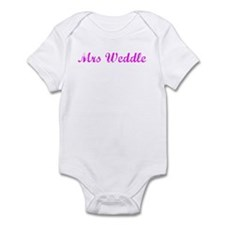Mrs Weddle Infant Bodysuit