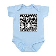 Bush-Cheney-Rumsfeld-War-Crimes Infant Bodysuit