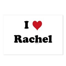 I love Rachel Postcards (Package of 8)