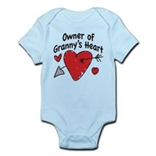 OWNER OF GRANNY'S HEART Infant Bodysuit