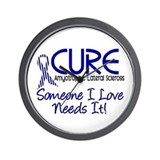 CURE ALS 2 Wall Clock