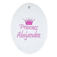 Princess Alejandra Oval Ornament