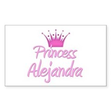 Princess Alejandra Rectangle Decal