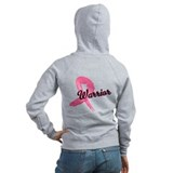 Breast Cancer Warrior Zip Hoody