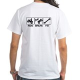 ATV, Ride, Break, Fix. ATV Shirt
