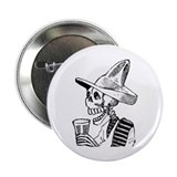 "Calavera con Cerveza 2.25"" Button (100 pack)"