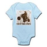 Quad: I Do My Own StuntsT Infant Bodysuit
