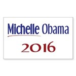 Michelle Obama 2016 Rectangle Sticker