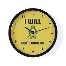 I Will Wall Clock