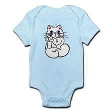 Longhair ASL Kitty Infant Bodysuit