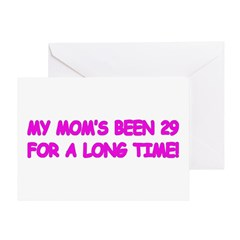 Mom's Really 30 Greeting Card