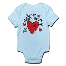OWNER OF GIGI'S HEART Infant Bodysuit