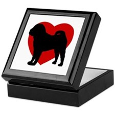 Shar Pei Valentine's Day Keepsake Box