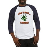 Don't Drink I Inhale!! Baseball Jersey