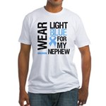 IWearLightBlue Nephew Fitted T-Shirt