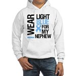 IWearLightBlue Nephew Hooded Sweatshirt