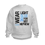 IWearLightBlue Nephew Kids Sweatshirt