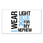 IWearLightBlue Nephew Rectangle Sticker 50 pk)