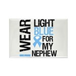 IWearLightBlue Nephew Rectangle Magnet (100 pack)