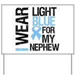 IWearLightBlue Nephew Yard Sign