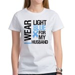 IWearLightBlue Husband Women's T-Shirt