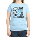 IWearLightBlue Husband Women's Light T-Shirt