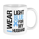IWearLightBlue Husband Mug