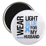 IWearLightBlue Husband Magnet