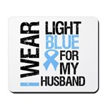 IWearLightBlue Husband Mousepad