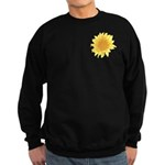 Elegant Sunflower Sweatshirt (dark)