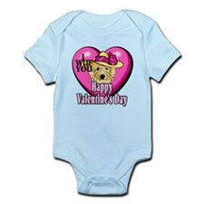 Goldendoodle Valentines Day Infant Bodysuit