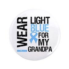 "IWearLightBlue Grandpa 3.5"" Button (100 pack)"