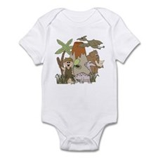 Boy Prehistoric Life Infant Bodysuit