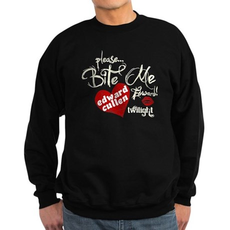 Bite Me Edward Cullen Sweatshirt (dark)