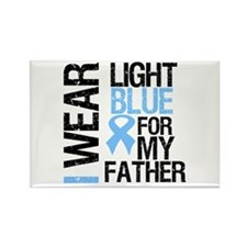 IWearLightBlue Father Rectangle Magnet (100 pack)