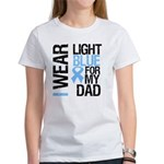 IWearLightBlue Dad Women's T-Shirt
