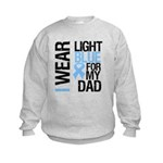 IWearLightBlue Dad Kids Sweatshirt