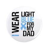 "IWearLightBlue Dad 3.5"" Button"