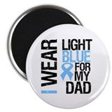 "IWearLightBlue Dad 2.25"" Magnet (10 pack)"