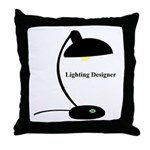 Lighting Designer 1 Throw Pillow
