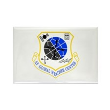Global Weather Rectangle Magnet
