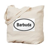 Barbuda (oval) Tote Bag